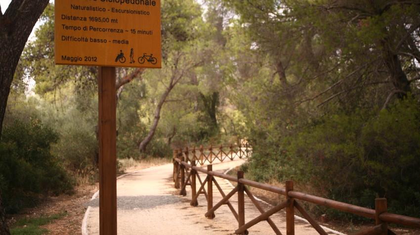 sentiero ciclopedonale